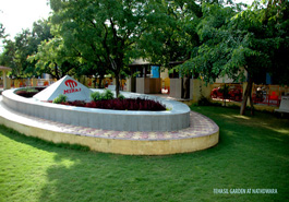 Garden for public use in Nathdwara